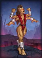 Sheeva,  Mortal Kombat: Armageddon (alternate) by SuperEdco