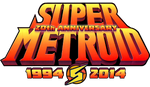 Super Metroid 20th Anniversary logo