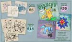 Pokemon Commissions : OPEN!