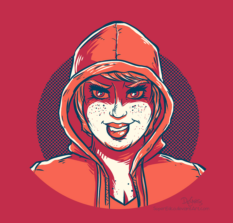 Just the hoodie by SuperEdco