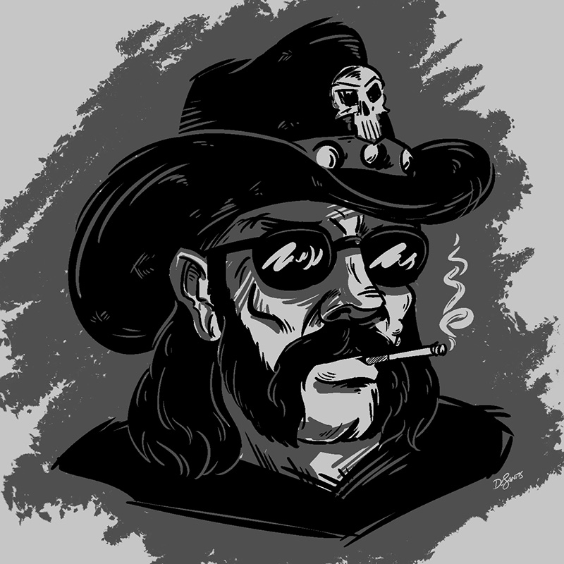 Lemmy RIP by SuperEdco