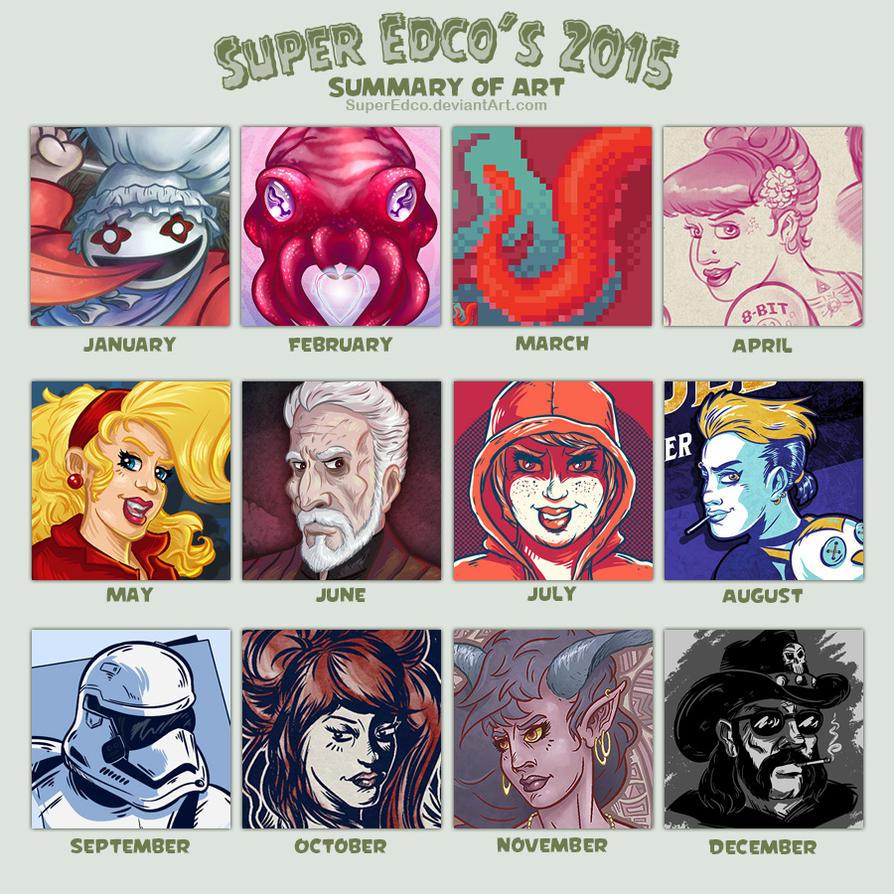 2015 Summary of Art by SuperEdco
