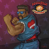 Ace Knuckles, Rockabilly Beatdown by SuperEdco
