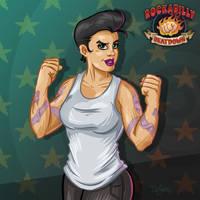 Kimber Killjoy, Rockabilly Beatdown by SuperEdco