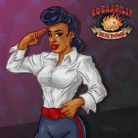 Jenna Von Jett, Rockabilly Beatdown by SuperEdco