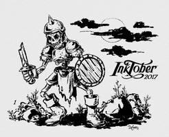 Inktober 2017 Kickoff by SuperEdco