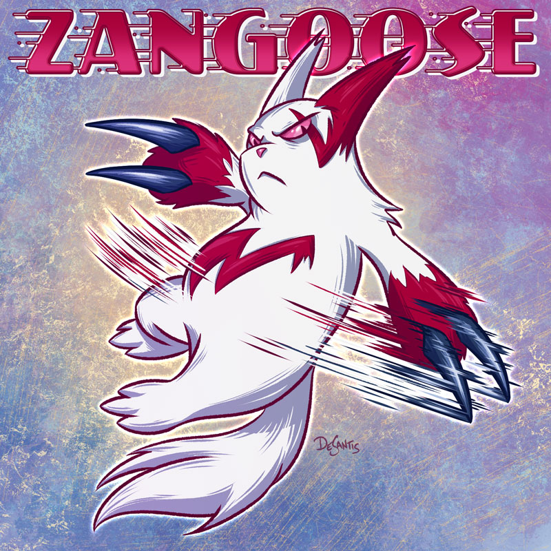 Zangoose by SuperEdco