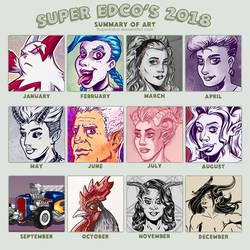 2018 Summary of Art by SuperEdco