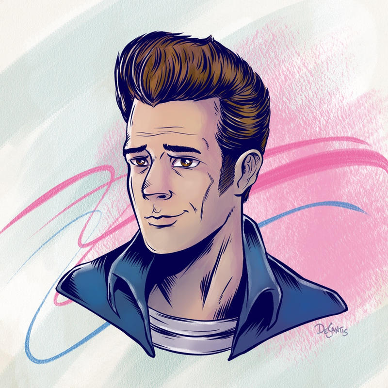 Luke Perry RIP by SuperEdco