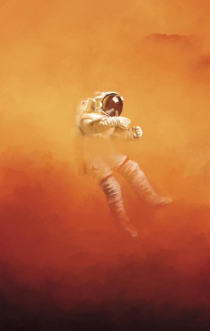 Book Cover Art Quotes : The martian by ormanator on deviantart