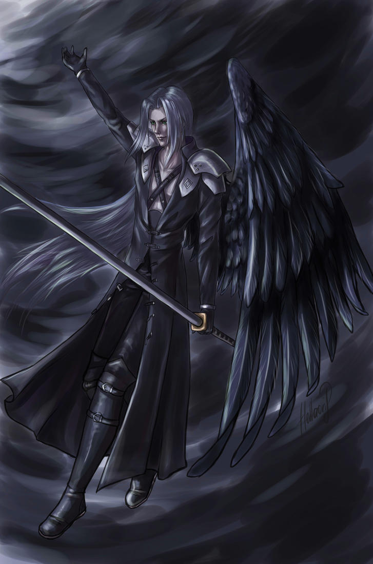 Sephiroth Wing Sephiroth|One-Winged A...