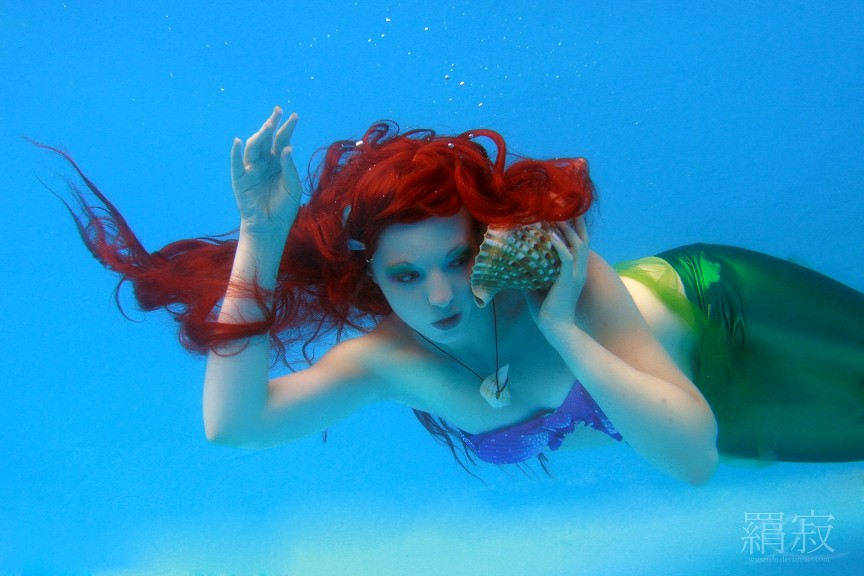 Ariel : Muschelmusik by princess-soffel