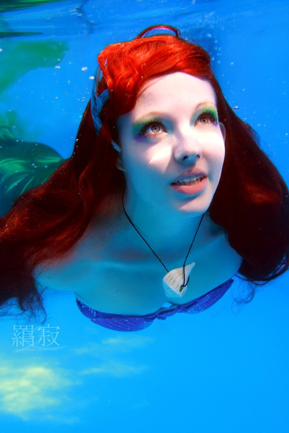 ariel :  mermaid under the sea by princess-soffel
