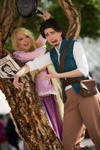 Rapunzel : They just can't get my nose right!