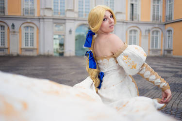 Final Fantasy VI: Celes Chere - The general by princess-soffel