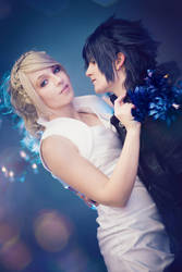 FFXV Noctis and Lunafreya by princess-soffel