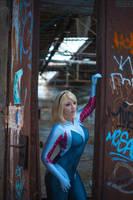 Spider-Gwen the Ghost Spider by princess-soffel