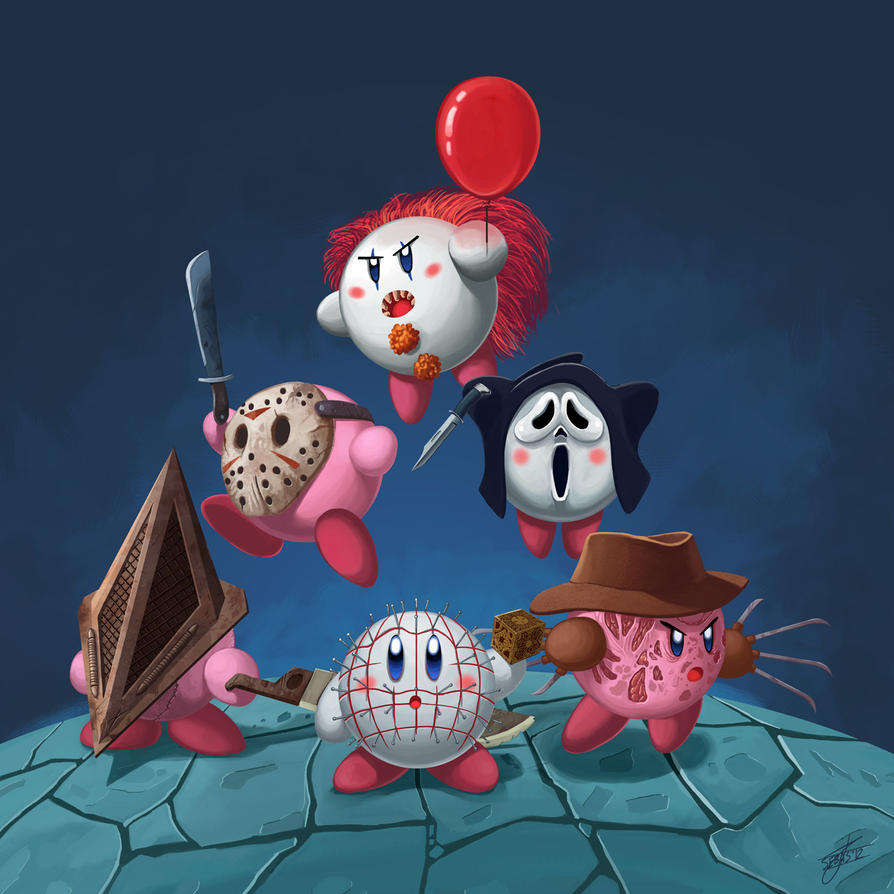 Kirby in Horrorland by Shnek