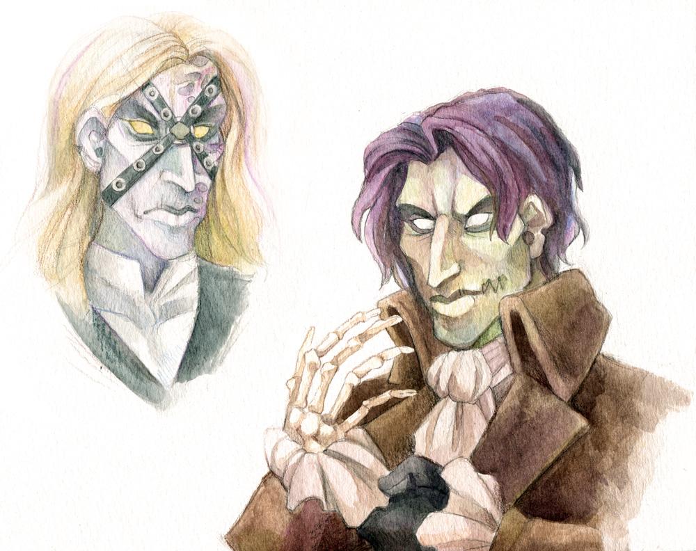 Dead Man's Party by aureath