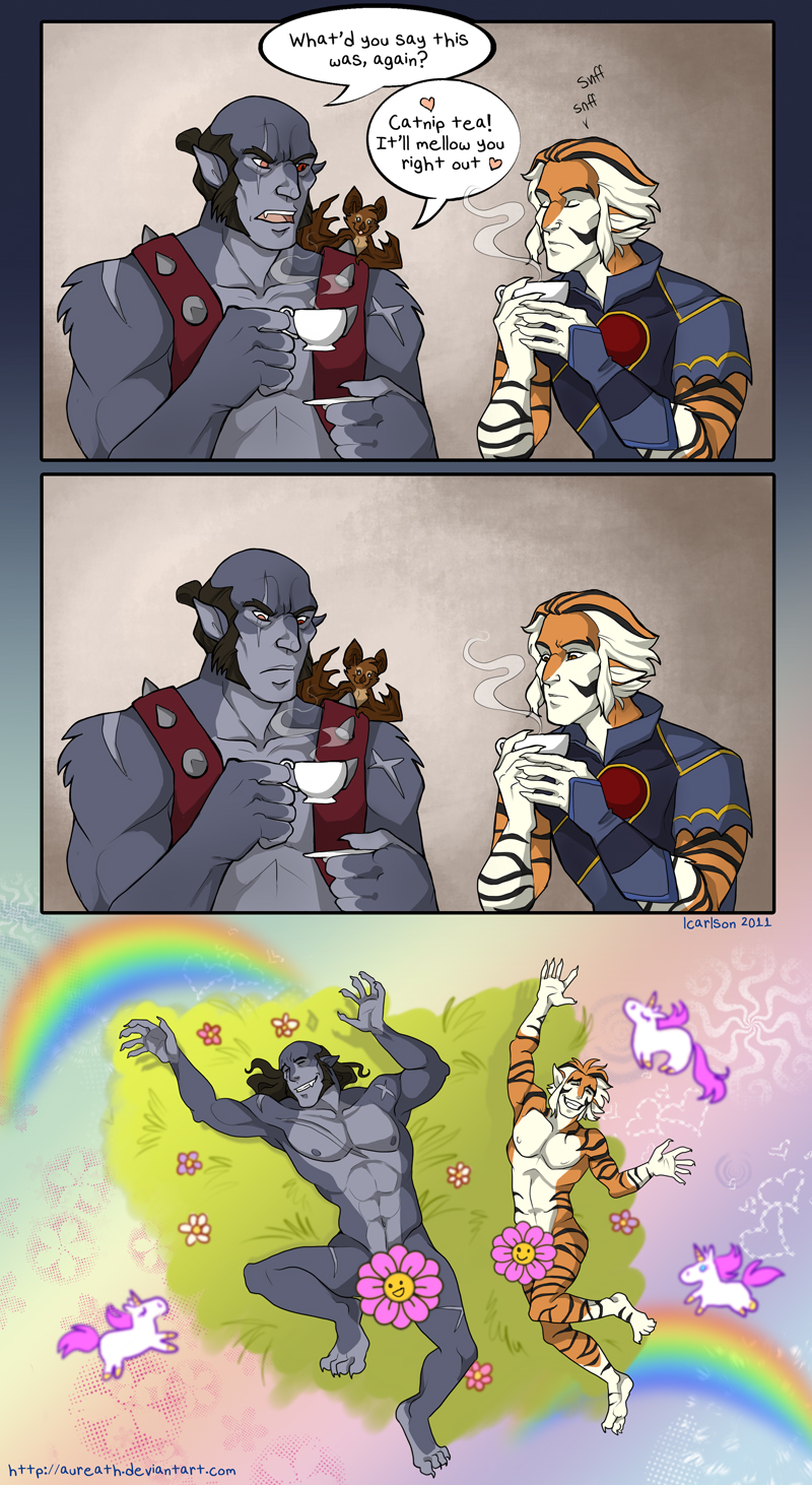 Catnip Tea by aureath