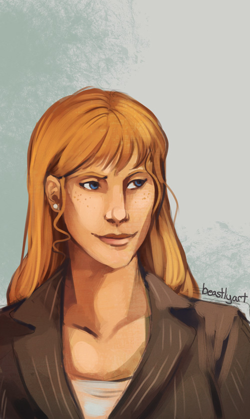 Speedpaint - Pepper Potts by aureath