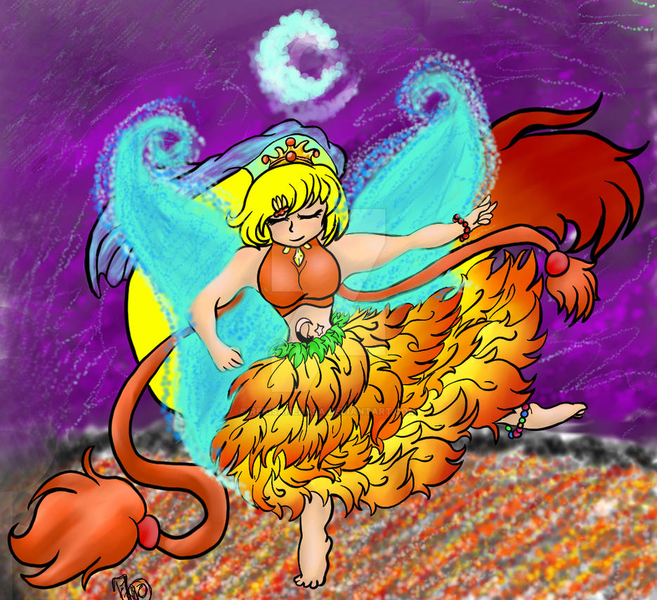 Dancing On Coals of Fire by Rekisanekasa