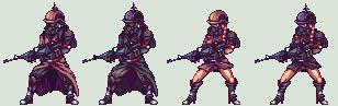 Liliputh soldiers by Pixelturtle
