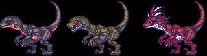 Raptors by Pixelturtle