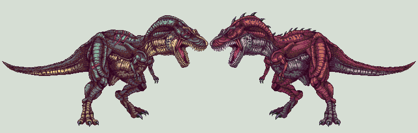 tyranos by Pixelturtle