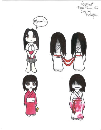 Fatal Frame Chibis Set 1 by Ramen-is-for-lovers on DeviantArt