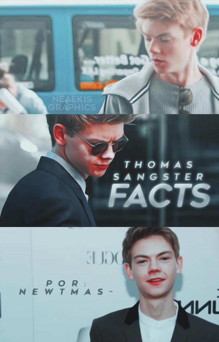 Thomas S. Facts / WATTPAD COVER by neaekis
