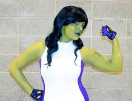 She-Hulk by galacticat