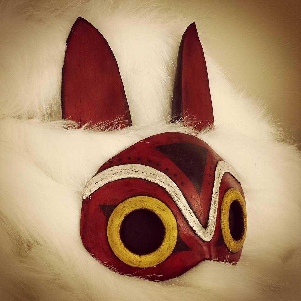 Princess Mononoke Mask And Ears By Galacticat On Deviantart