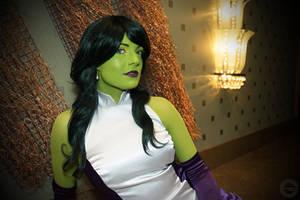 Formal She-Hulk by galacticat