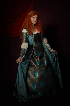 Princess Merida, Italian Renaissance Reimagining