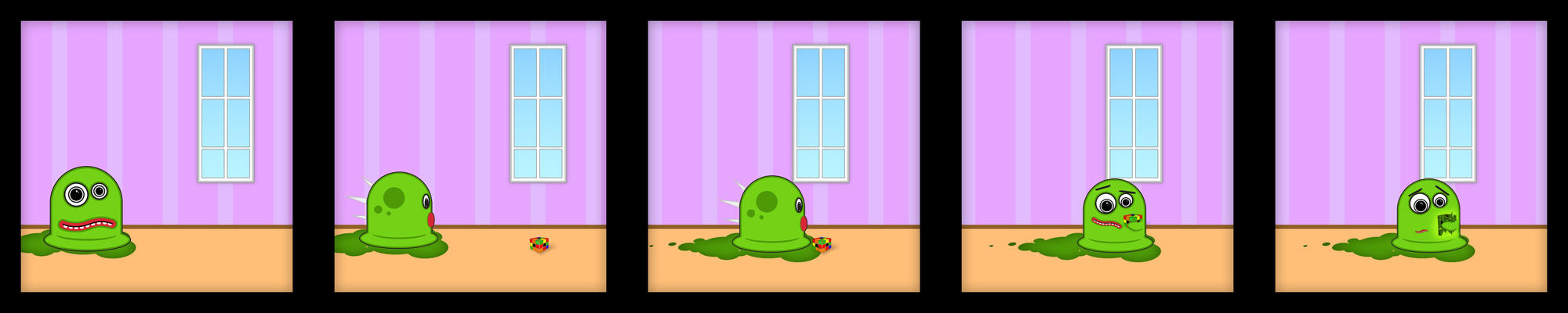 Hermie the Radioactive Slime by Emn1ty