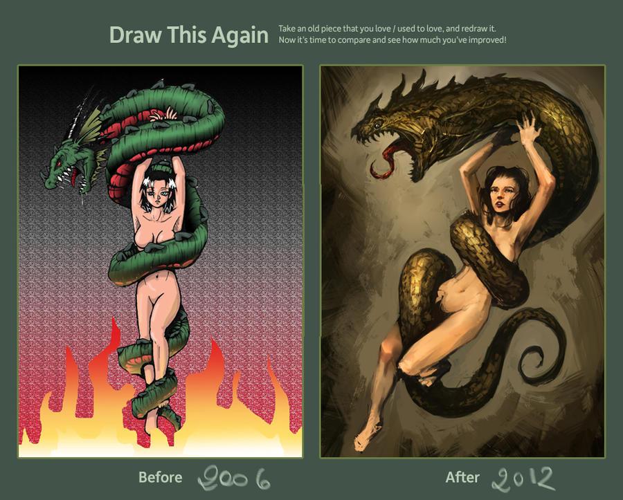 Lei e il Drago by zoppy