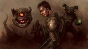 Doom Tribute by zoppy