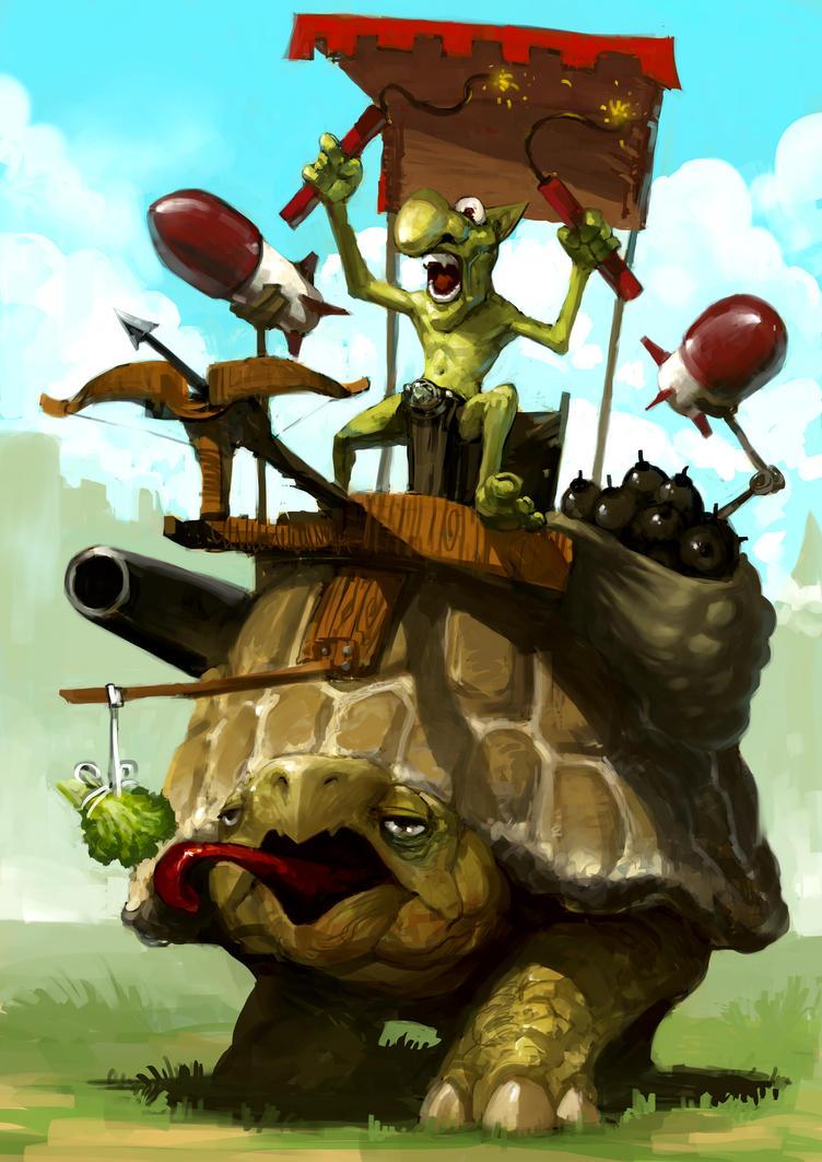 Goblin Vs Gnomi by zoppy