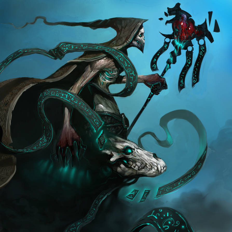 Undead Warlock by zoppy