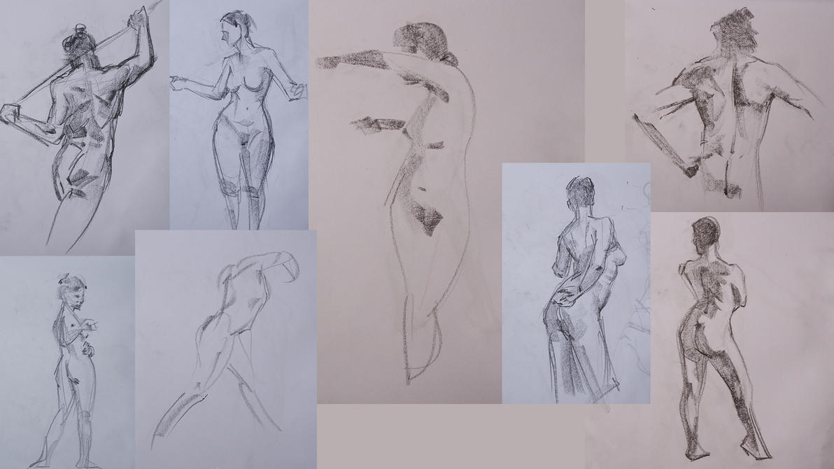 Live 2-5 Mins Sketches by zoppy
