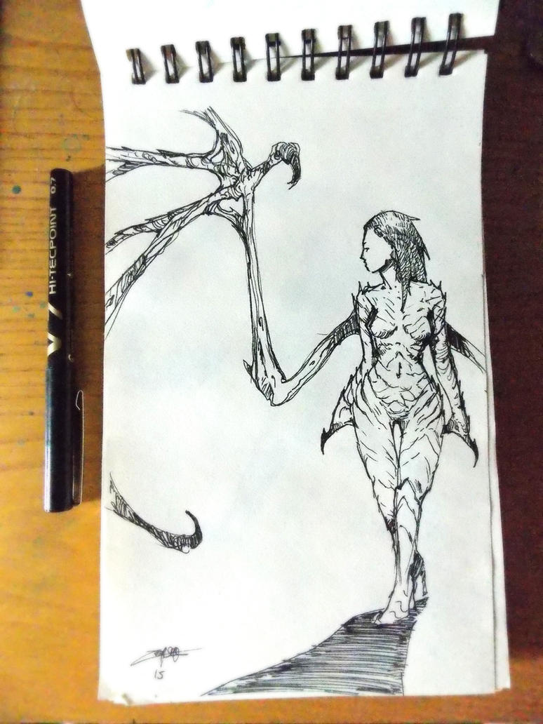 Kerrigan sketch by zoppy