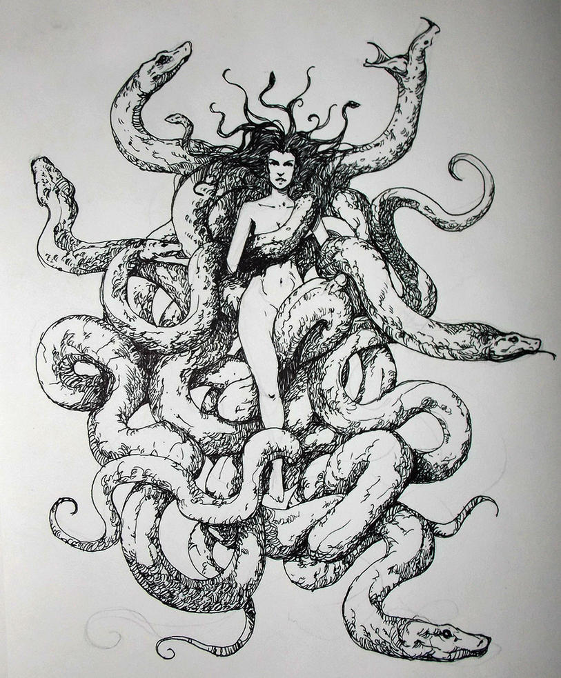 Medusa by zoppy