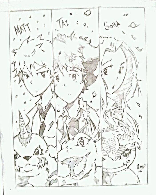 Digimon Generation 1 by Tazartist19
