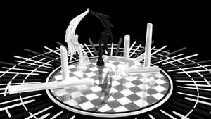 Mmd Geass Chess Bord Stage by roosjuh14290