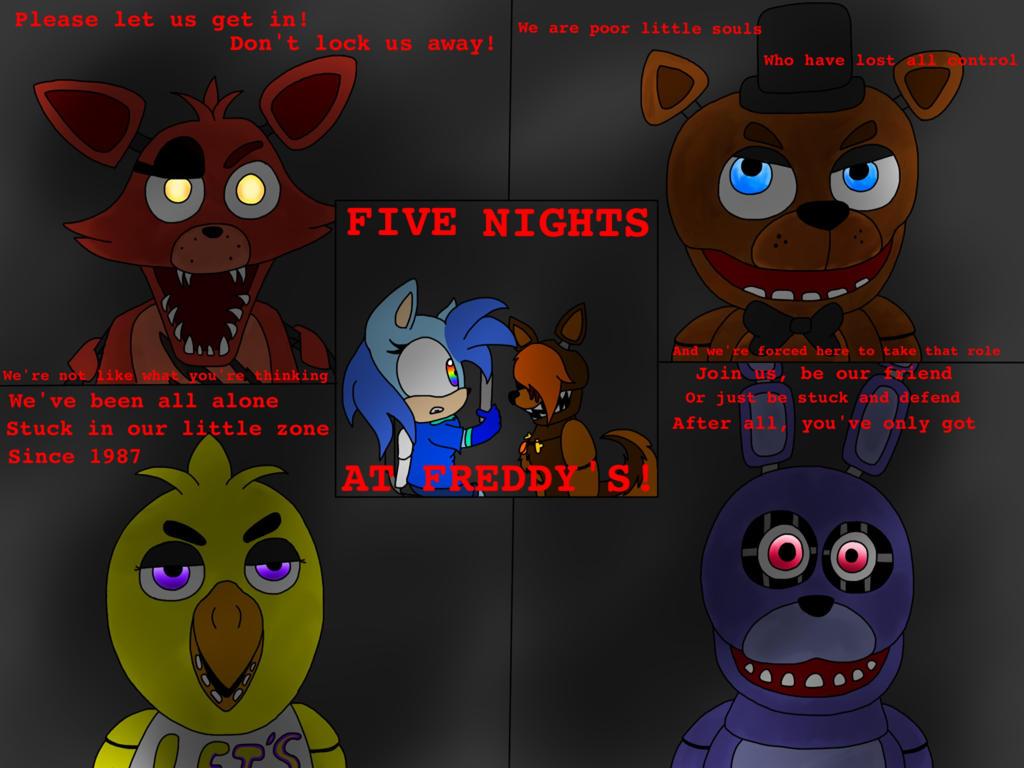 5 nights at freddys 1 song