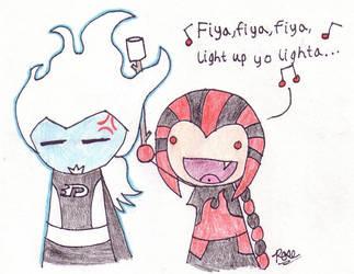Light Up Ya Lighter by Rose-McSugar
