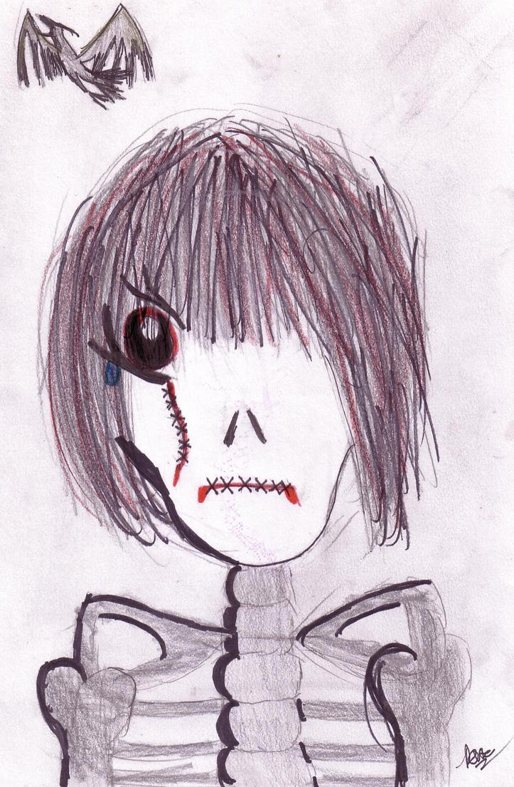 Lol emo art by rose mcsugar on deviantart - Emo rose pictures ...