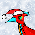 Holiday Merlin by Karatefinch
