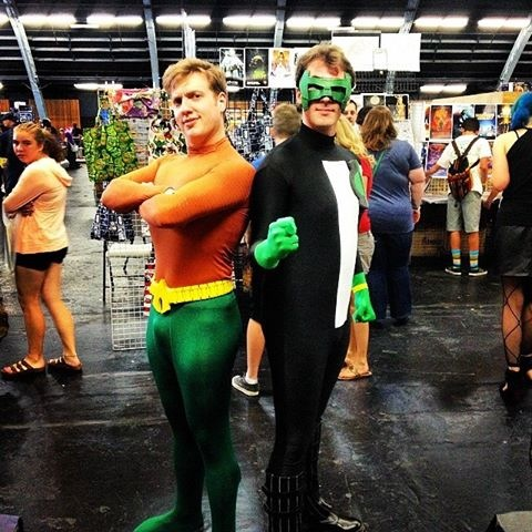 Candid Shot - Aquaman Costume by BreakdownFreak